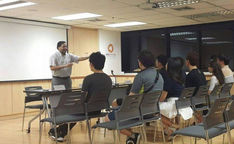 Read more about the article Briefing on ASEAN to Korea University Students