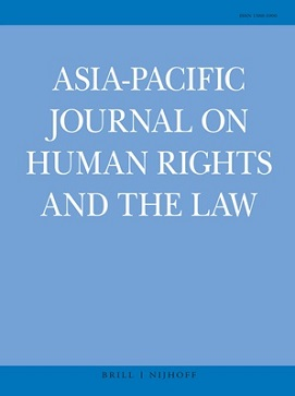 The Protection of Human Rights in Southeast Asia, Improving the Effectiveness of Civil Society. Asia-Pacific Journal on Human Rights and the Law
