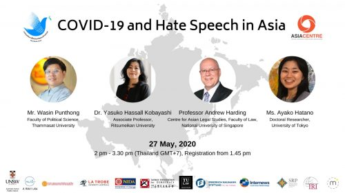 Covid-19 and Hate Speech: Measures Shouldn't Infringe Rights