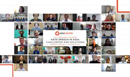 5th International Conference (2020): Hate Speech in Asia: Challenges and Solutions
