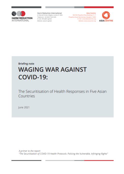 Waging War Against COVID-19
