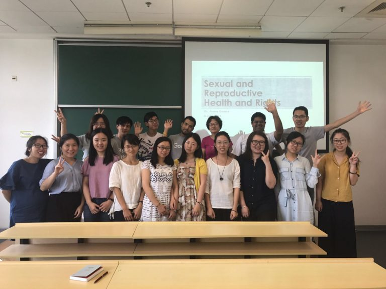 Asia Centre delivers lectures on Women's Rights in China