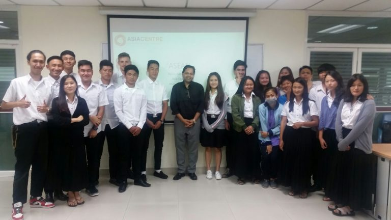 ASIA Centre Lectures on Business and Human Rights in ASEAN at  Rajamangala University of Technology Phra Nakhon (RMUTP)